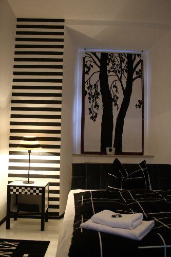 Schwarz-weiss Zimmer