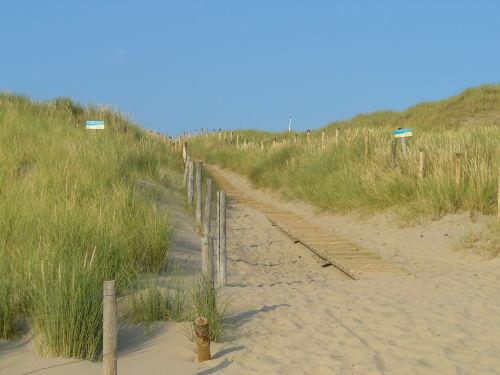 Dünen und feinen Sandstrand