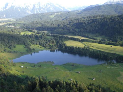 Blick auf den Geroldsee