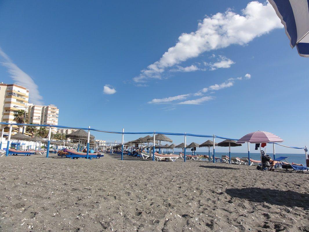 Playa Ferrara u. Promenade, Torrox-Costa