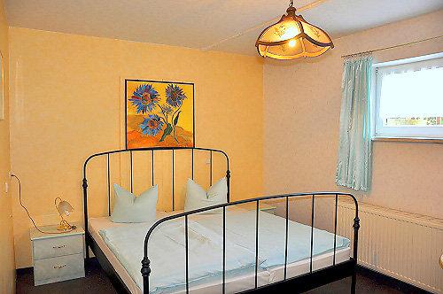 Blick in die Ferienwohnung, Schlafzimmer