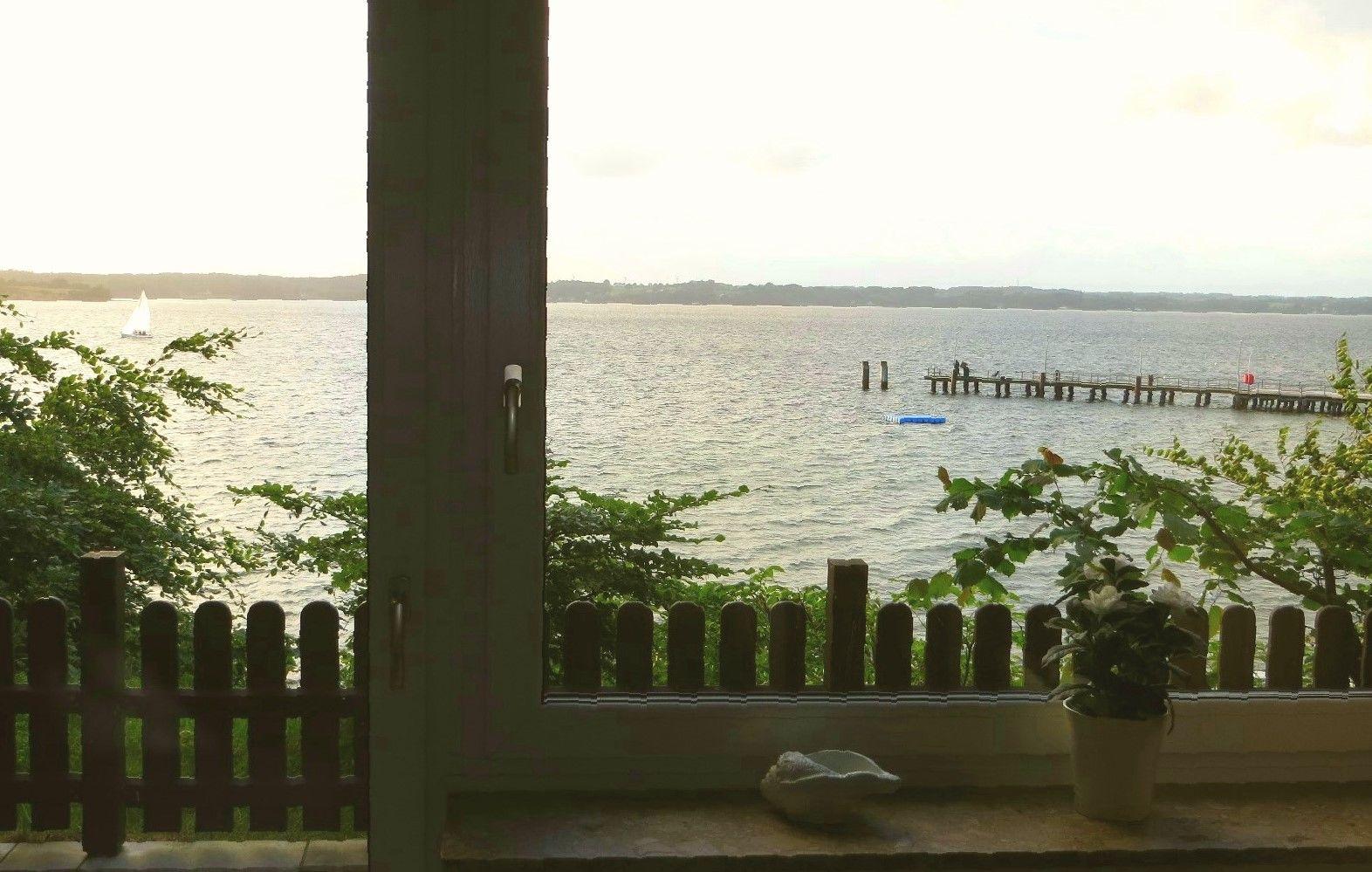 Eig.Terrasse direkt oberhalb des Strands