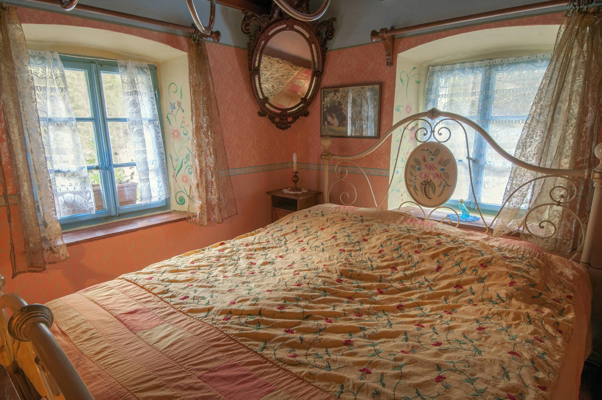 Erste Schlafenzimmer