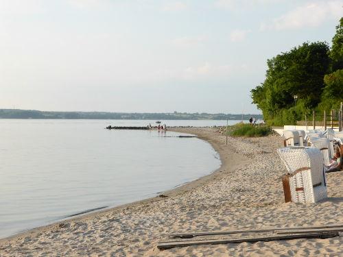 Am Strand entlang Richtung Holnis