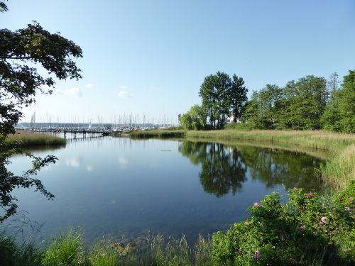 Der Schloßsee, Wasserschloß Glücksburg
