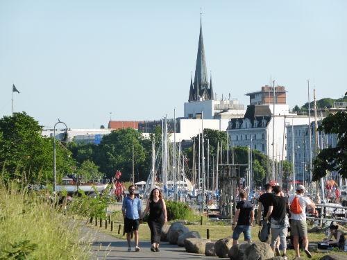 Hafenspitze Flensburg / Altstadt