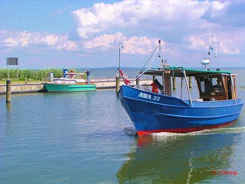 Hafen von Altwarp