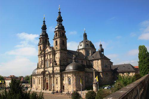 St. Salvator, der barocke Dom in Fulda