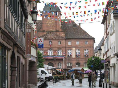 Wissembourg, deutsch-franz.-Grenze
