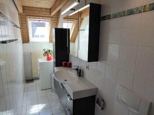 das moderne und schicke Duschbad