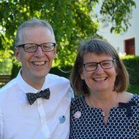 Vermieter: Edward und Anja Morris mit Sweep