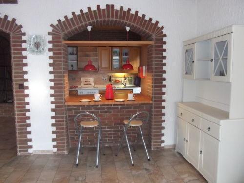 Eßbar/Blick i.d. Küche/Zugang z.Terrasse