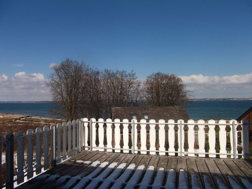 See-Terrasse m.Strandkorb u.Sonnenliegen