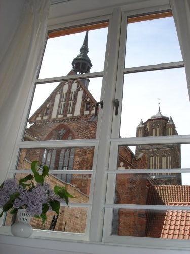 Blick auf die Jakobikirche