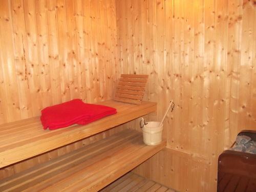 Sauna-Bereich im unteren Teil des Hauses