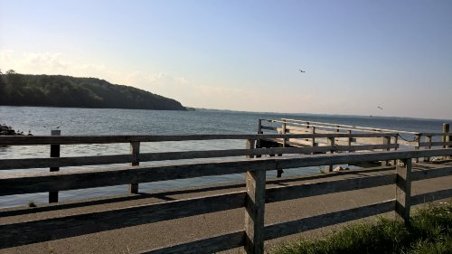 Ausblick von der Seebr�cke