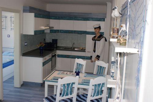 Fewo 9 - Wohnraum mit K�che