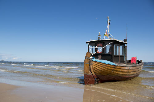 Ahlbecker Fischerboot