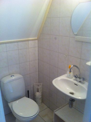 Toilette Obergeschoß Schlafzimmer