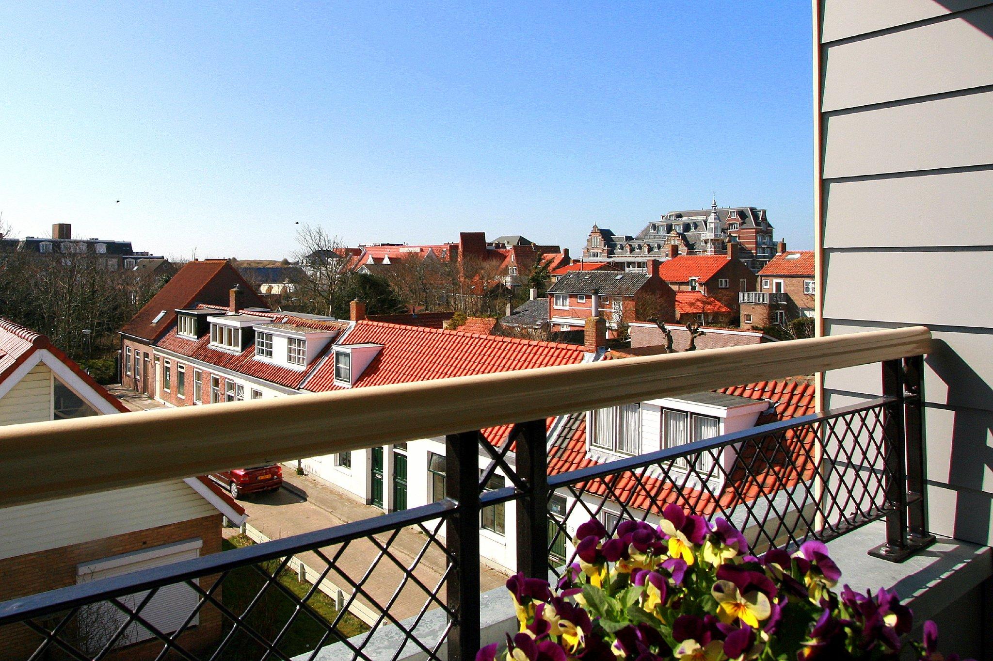 Sonniges Balkon