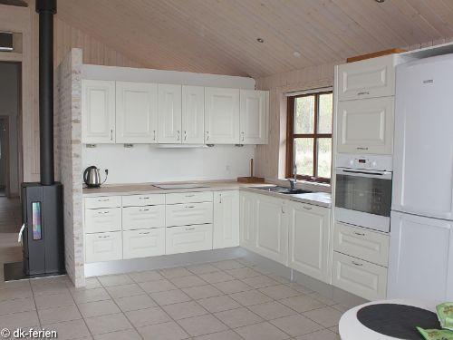 Offene Küche im Løkken Hus
