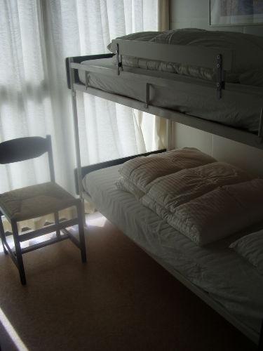 Einzelzimmer mit Etagenbett