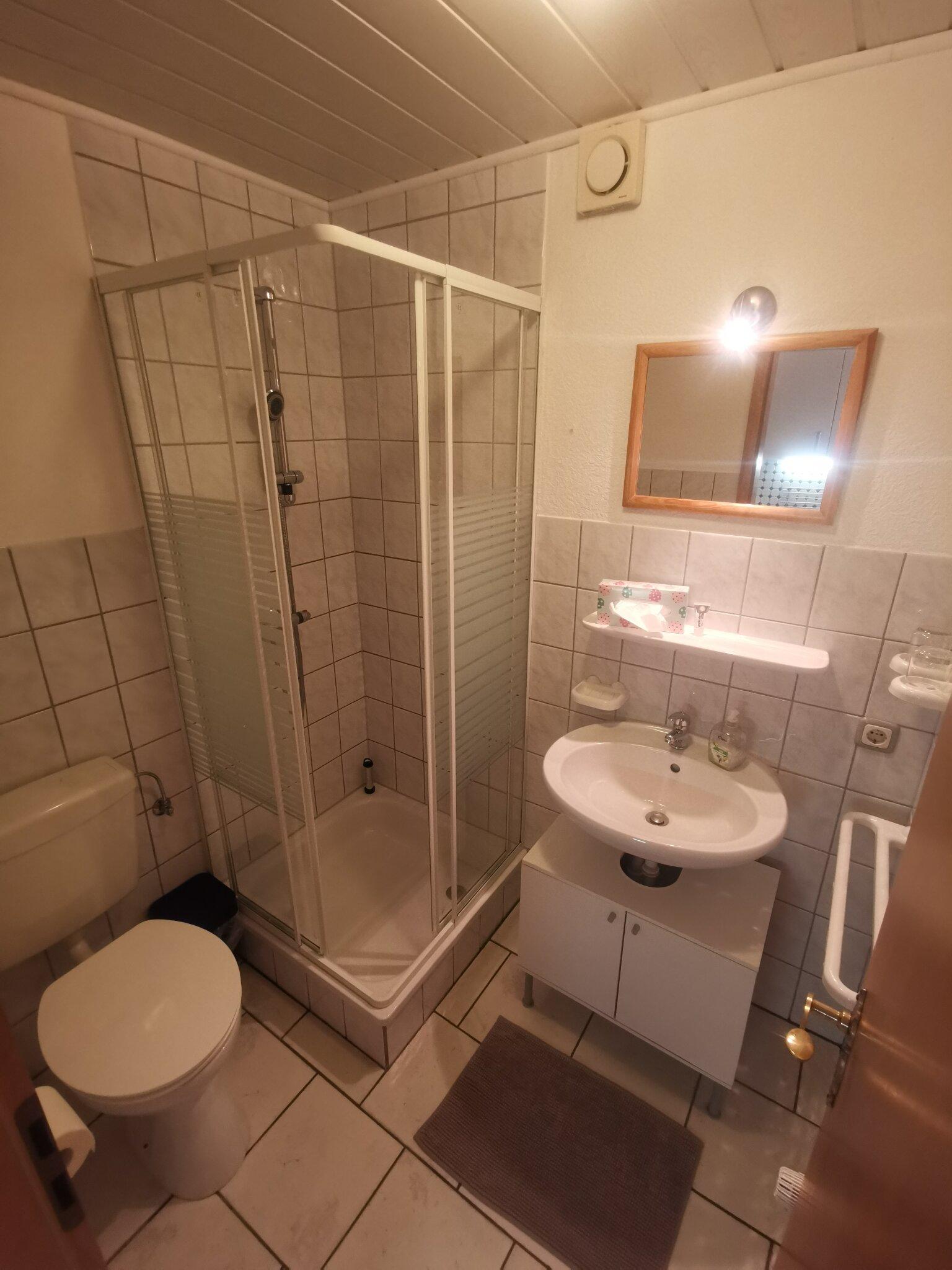 Das Badezimmer aus W6