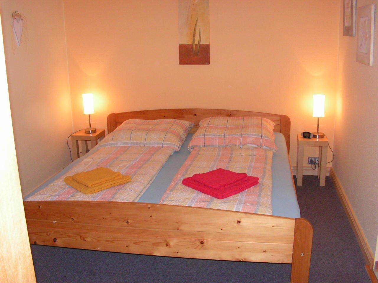 Das Schlafzimmer aus W4