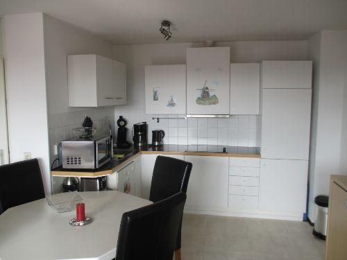 Der Ess- und Küchenbereich