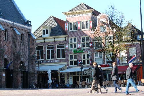 Alkmaar - ber�hmt f�r den K�semarkt