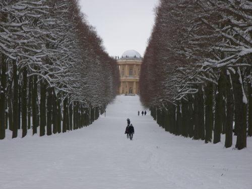Park Sanssouci - Blick zum Belvedere