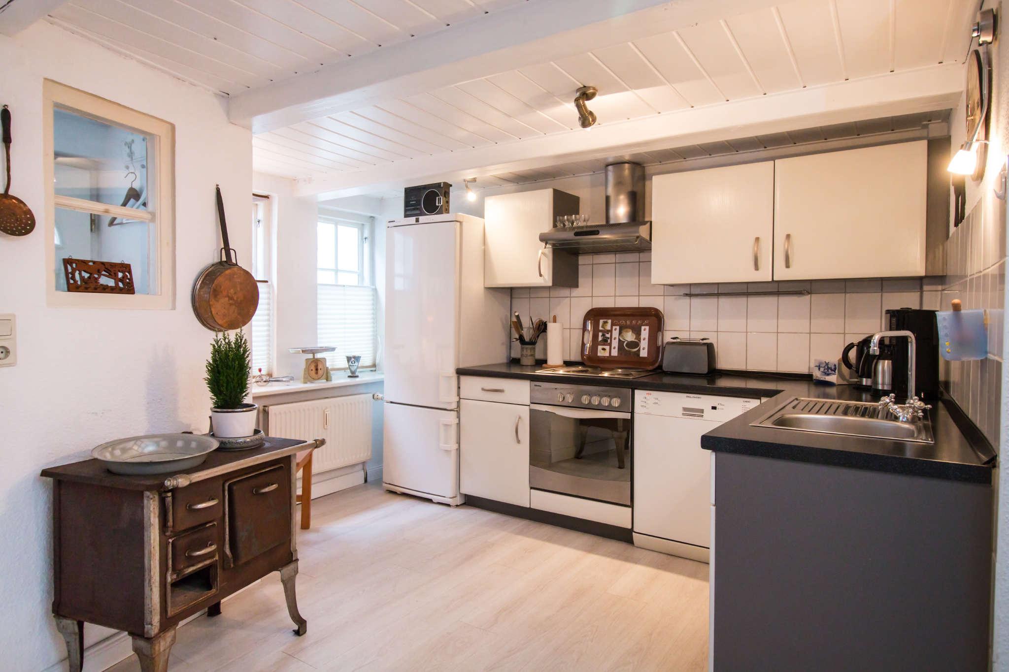 Essbereich in der Küche im EG