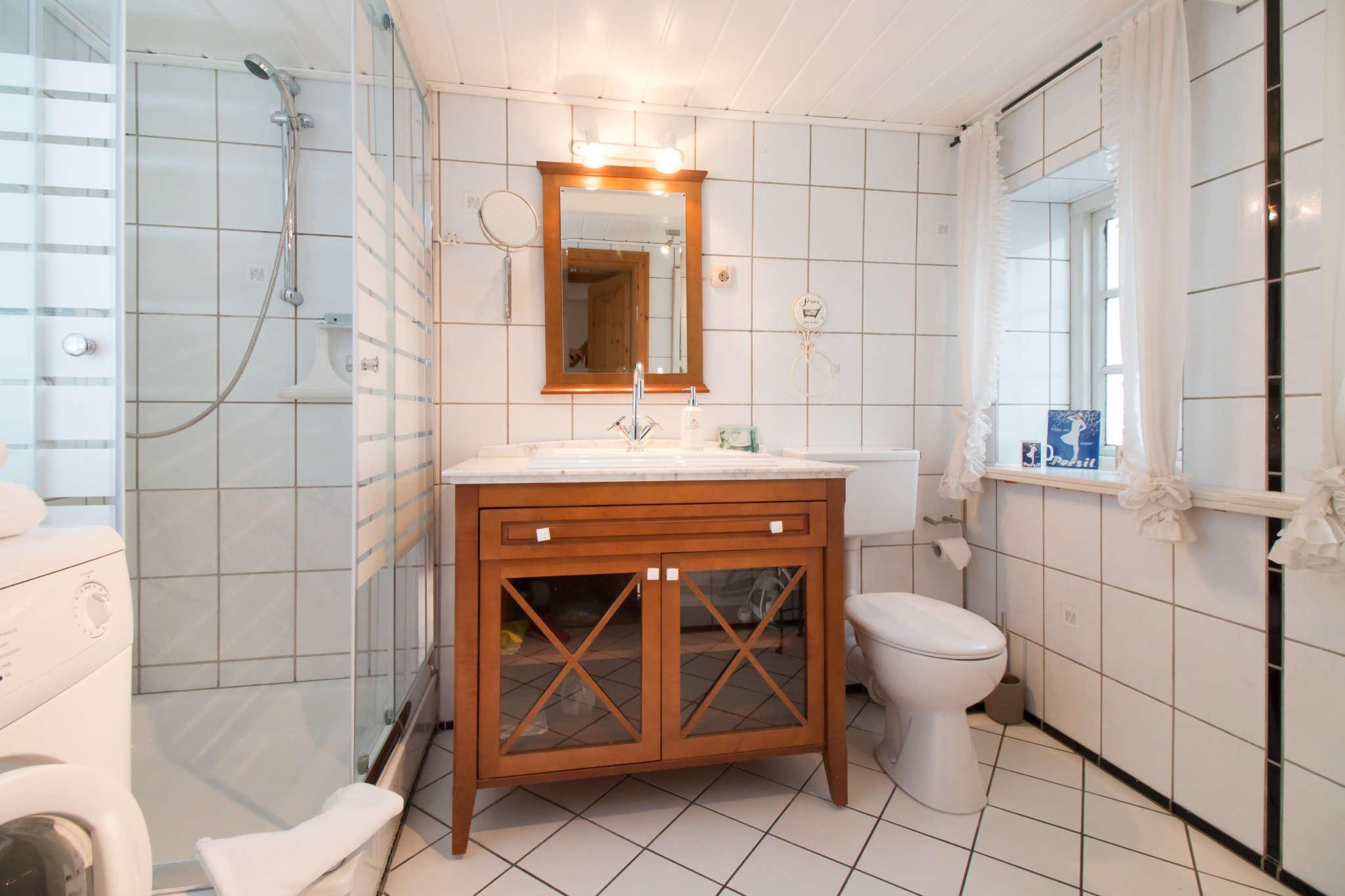 Modernes Tageslicht-Duschbad