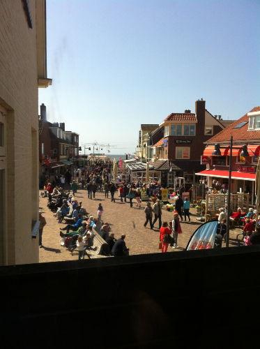 Meerblick von Balkon