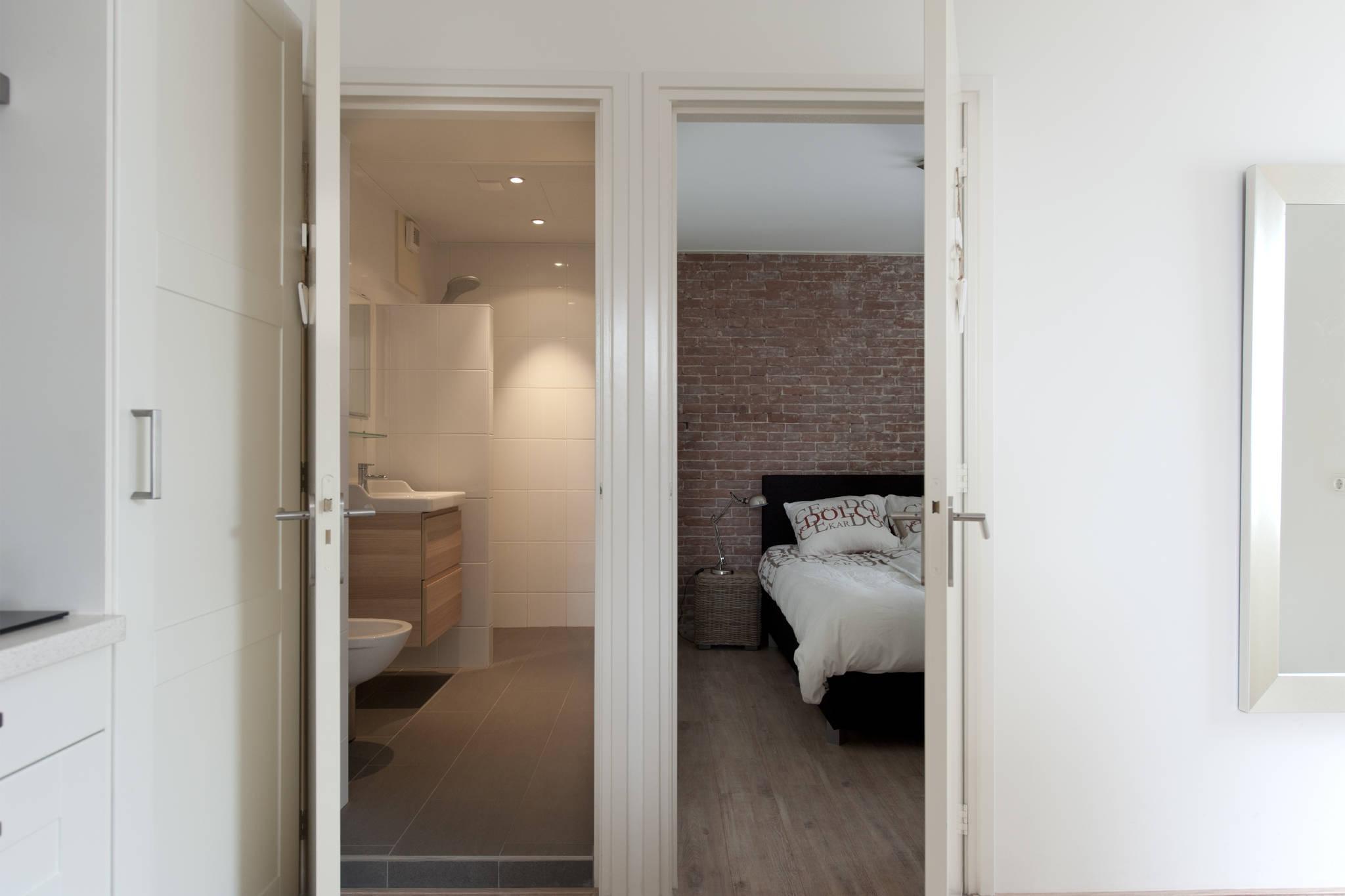 Wohnzimmer mit lounge-schlaf sofa