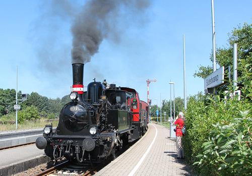 Angelner Dampfeisenbahn in Süderbrarup