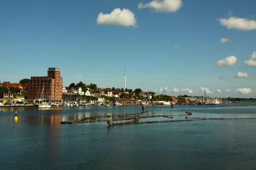 Nordhafen mit Heringszaun