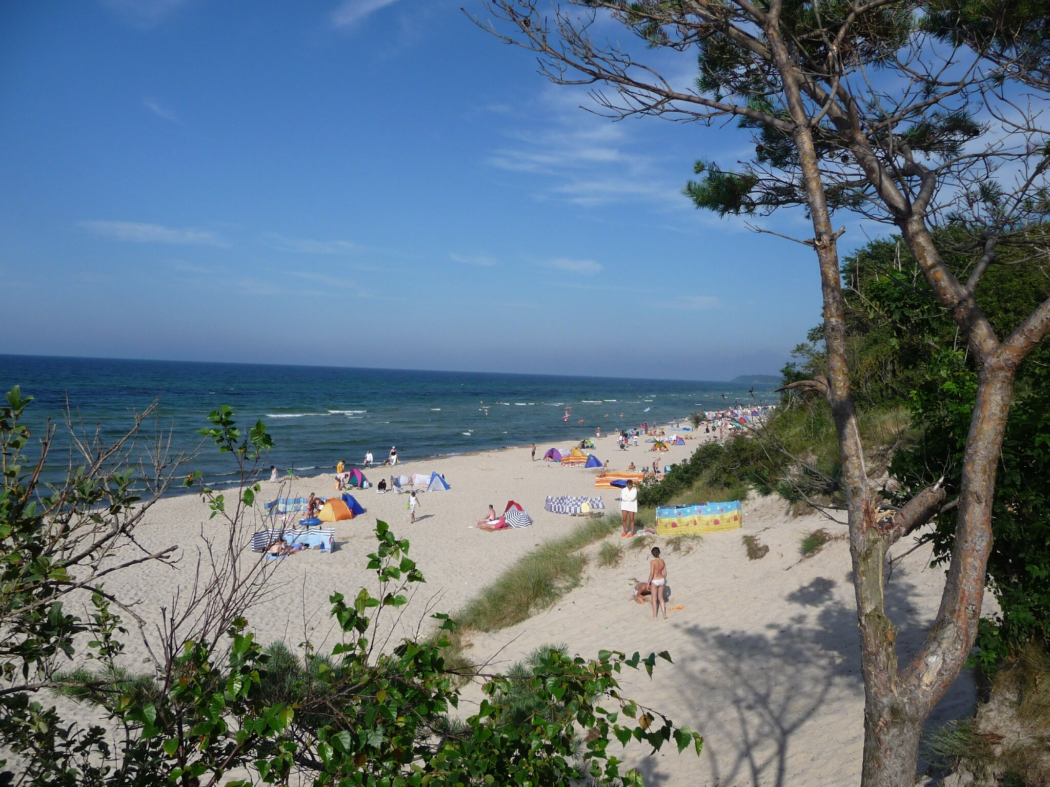 der feinsandige Strand unserer Anlage