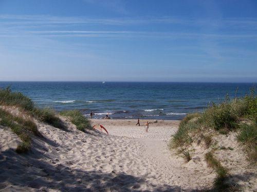 Ihr feinsandiger Strandabschnitt