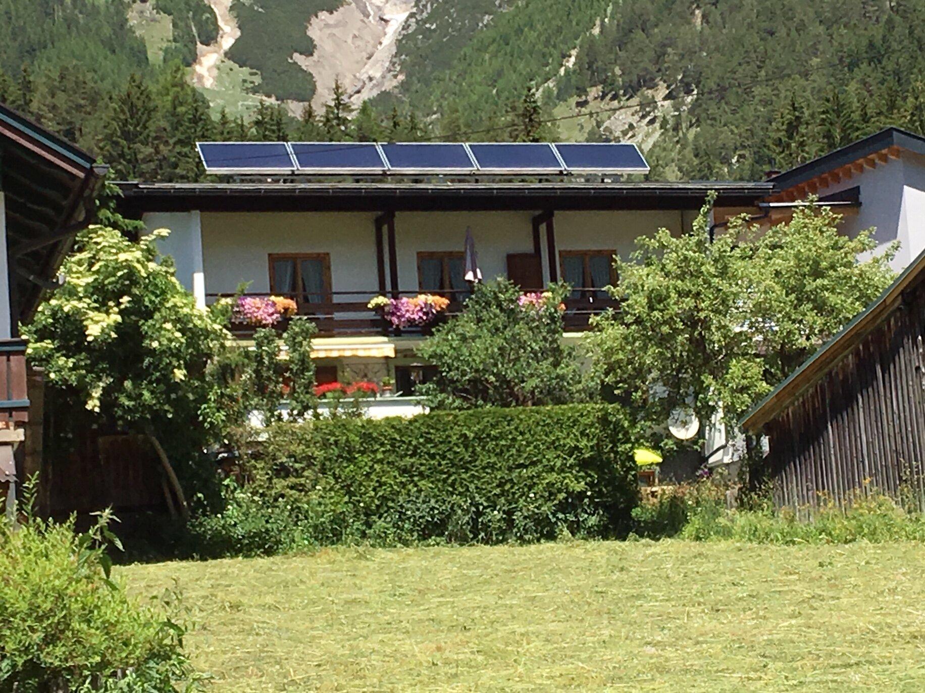 Haus Walch im Sommer