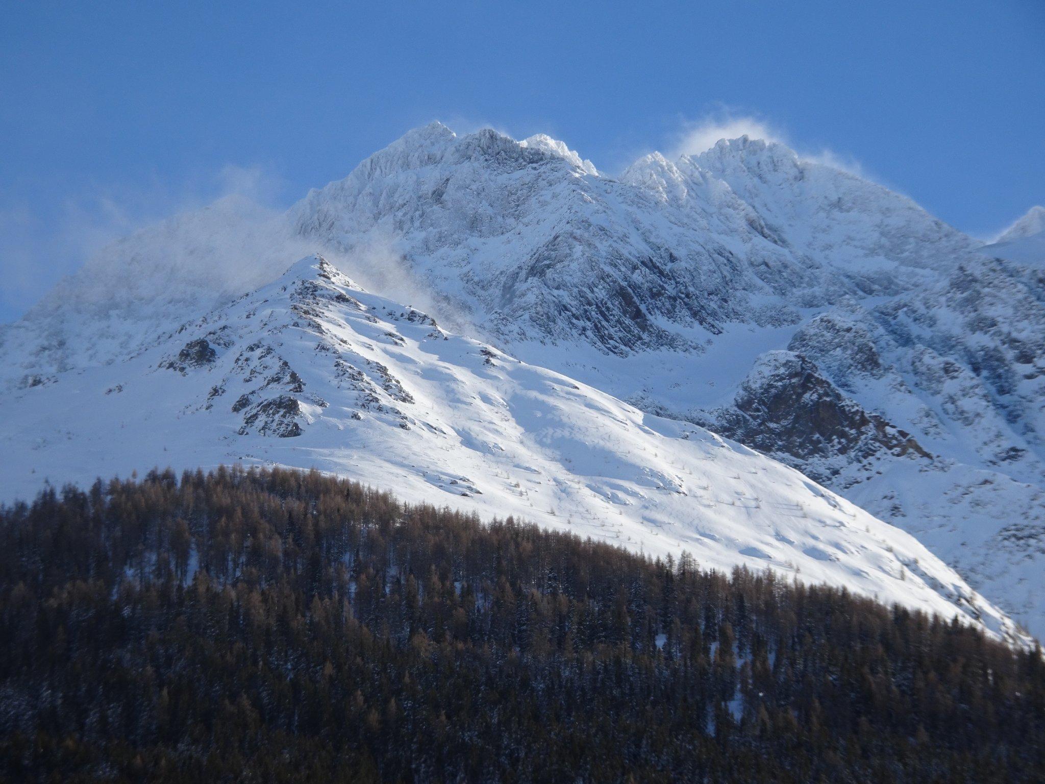Skigebiet Pettneu m.Hohem Riffler 3168m