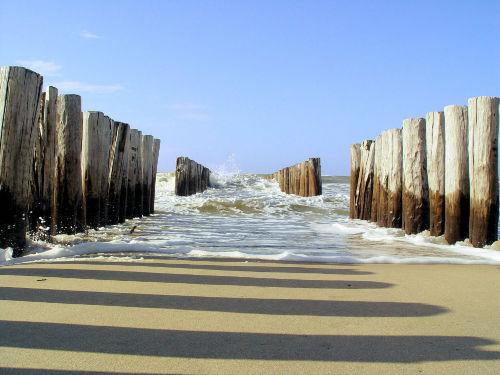 Strand und Meer Domburg