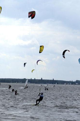 Windstärke 3 - Kiter im Aufwind