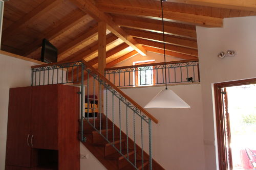 Treppe zum oberen Halbetage
