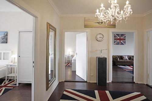 der Eingangsbereich des Apartments