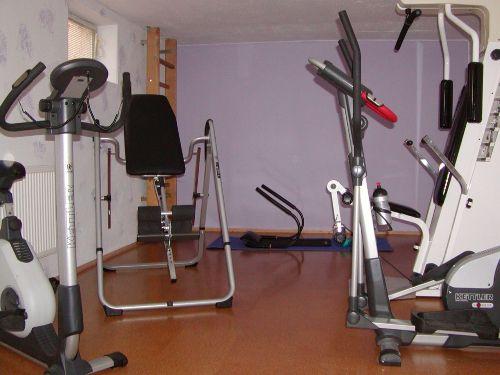 Fitnessraum im Ferienhaus