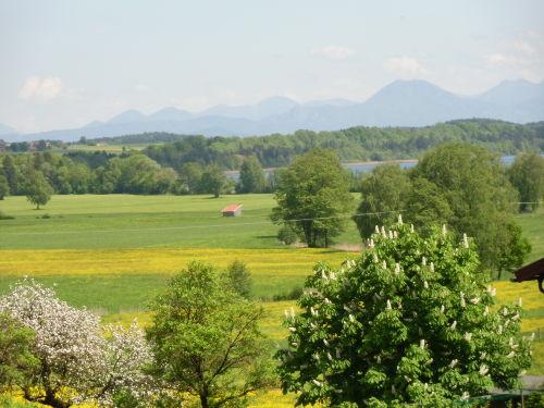 See und Bergblick