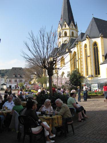 Marktplatz in Ahrweiler.