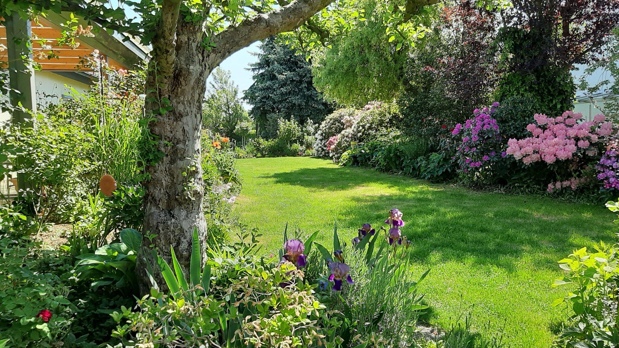 Gartenbenützung erlaubt