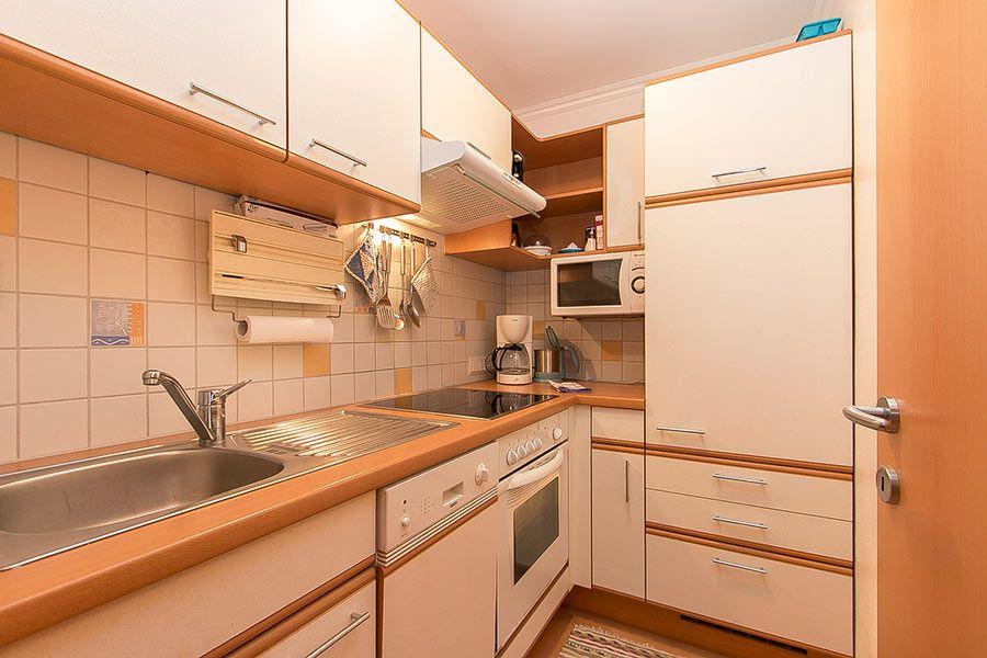 Ferienwohnung 2 Küche Landhaus Waldeck